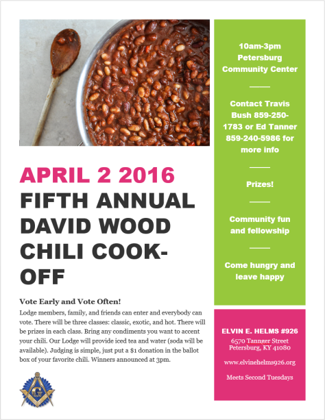 5thAnnualChiliCookoff
